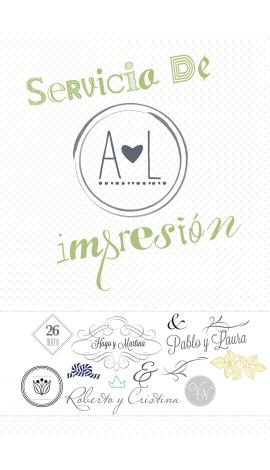 Impresión y Personalización