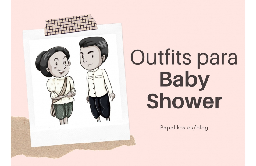 Outfits para Baby Showers